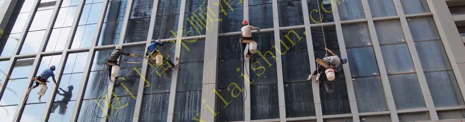 厦门高空作业 外墙清洁 厦门喜来顺清洁服务有限公司